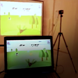 Stereoscopic Gesture-Based Game with A*Star
