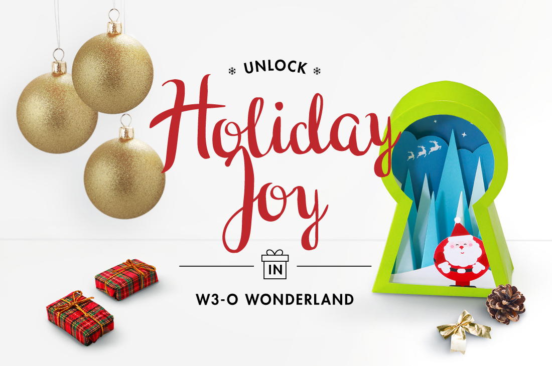Unlock Holiday Joy in w3-o Wonderland!